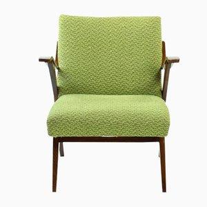 Grüner Bugholz Sessel von Mier, 1960er