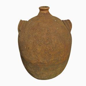 Großer Antiker Terracotta Krug
