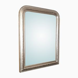 Antique French Silvered Mirror
