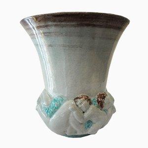Crépuscule Vase von Edouard Cazaux, 1930er