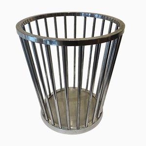 Steel Waste Basket, 1930s