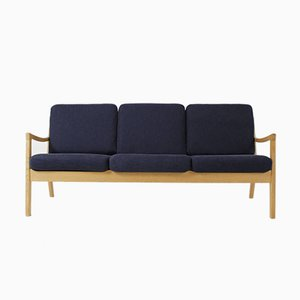 Vintage Model 166 Oak Senator Sofa by Ole Wanscher for Cado