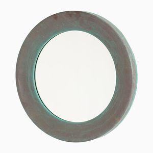 Copper Wall Mirror from Glasmäster i Markaryd, 1960s