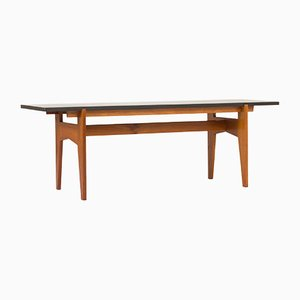 Teak and Black Marble Coffee Table by Hans-Agne Jakobsson, 1950s
