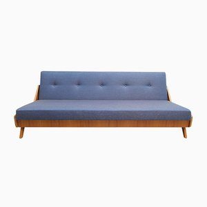 Blue Ash Veneered Daybed, 1950s