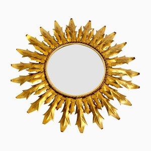 Gilt Iron Sunburst Mirror, 1960s