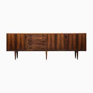Danish Rosewood Sideboard by Henry Rosengren Hansen for Brande Møbelindustri, 1960s