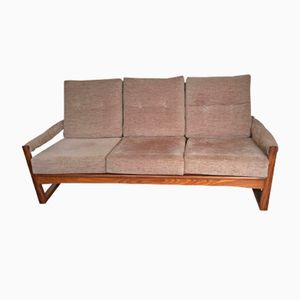 Afromosia & Teak Virginia Sofa by Guy Rogers, 1960s