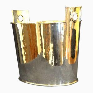 Vintage Italian Silver Champagne Bucket