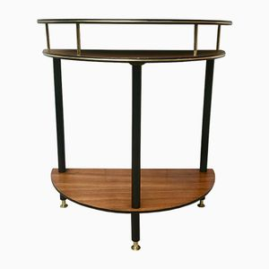 Vintage Semicircular Side Table