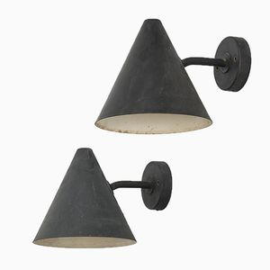 Mid-Century Tratten Wall Lights by Hans-Agne Jakobsson, 1950s, Set of 2