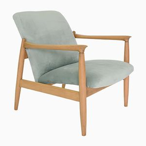 Vintage Light Green GMF-64 Armchair by Edmund Homa