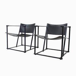 FM61 Cubic Chairs by Radboud van Beekum for Pastoe, 1980s, Set of 2