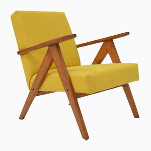 Yellow Polish B 310 VAR Armchair, 1960s