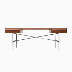 Mid-Century Danish Desk by Illum Wikkelsø for P. Schultz & Co, 1960s
