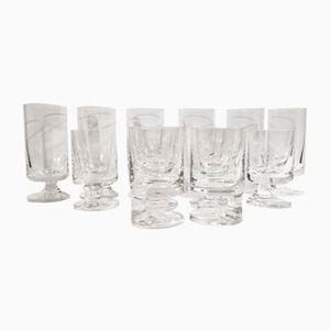Bicchieri da vino e acqua di Joe Colombo per Arnolfo Di Cambio, 1964, set di 12