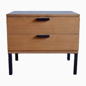 Vintage French Modernist Bedside Table