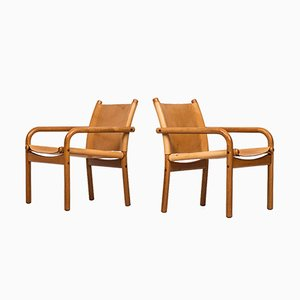 Easy Chairs from Bernstorffsminde Møbelfabrik, 1960s, Set of 3
