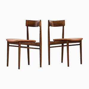 Model 39 Dining Chairs by Henry Rosengren Hansen for Brande Møbelfabrik, 1960s, Set of 8
