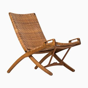Mid-Century JH512 Folding Chair by Hans Wegner for Johannes Hansen