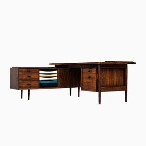 Modell 209 Schreibtisch in L- Form von Arne Vodder für Sibast Møbelfabrik, 1960er