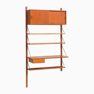 Vintage Danish Teak Shelving System by Sven Ellekaer for Albert Hansen