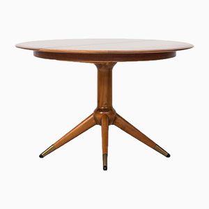 Tavolo da pranzo di David Rosén per Nordiska Kompaniet, anni '50