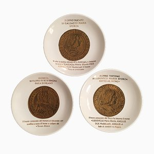 Vintage IBI Coins of the Duchy of Milan by Piero Fornasetti, 1973