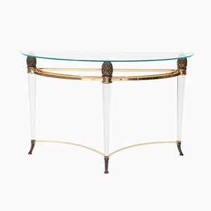 Vintage Console Table from Maison Jansen, 1970s