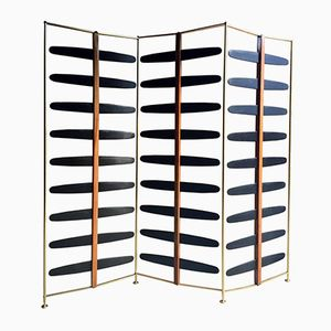 French Room Divider in Brass, 1950s