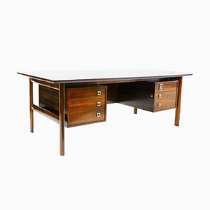 Large Rosewood Desk by Arne Vodder for Sibast, 1960s