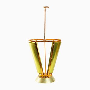 Gold Plated Umbrella Stand, 1960s