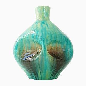 Vase Mid-Century en Céramique d'Accolay