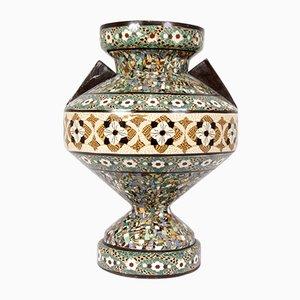 Vaso in ceramica di Jean Gerbino, anni '50
