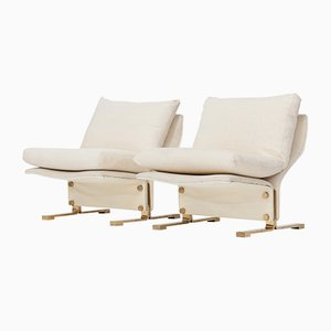Lounge Chairs by Marzio Cecchi, 1960s, Set of 2