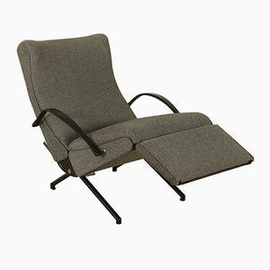 Italian P40 Lounge Chair by Osvaldo Borsani for Tecno, 1950s