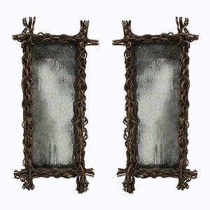 Rectangular Mirrors, 1970s, Set of 2