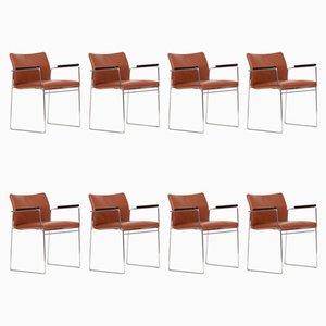 Jano Esszimmerstühle von Kazuhide Takahama für Cassina, 1969, 8er Set
