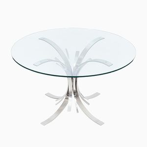 Gerbe Dining Table by Maria Pergay, 1975