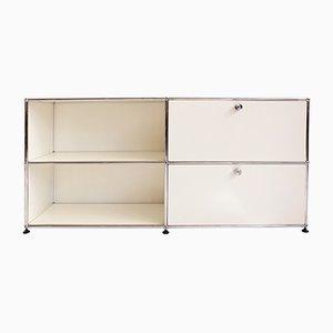 Vintage Storage System with Sliding Shelves by Fritz Haller for USM Haller
