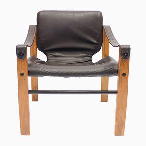 Brazilian Chelsea Safari Chair by Maurice Burke for Pozza, 1960s