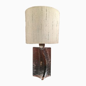 Vintage Glass Table Lamp from Daum, 1960s