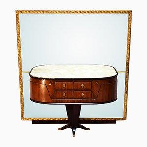 Italienischer Konsolentisch mit Spiegel von Rima, 1950er