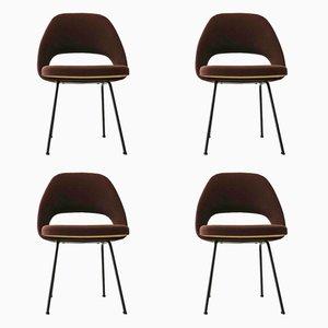 Model 72 U Side Chairs by Eero Saarinen for Knoll International, 1960s, Set of 4