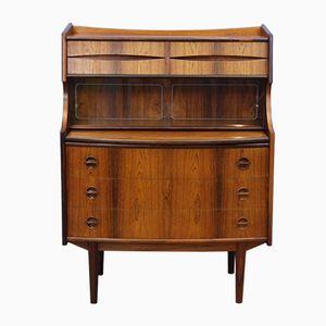 Danish Mid-Century Writing Desk in Rosewood by Gunnar Falsig for Holstebro Møbelfabrik