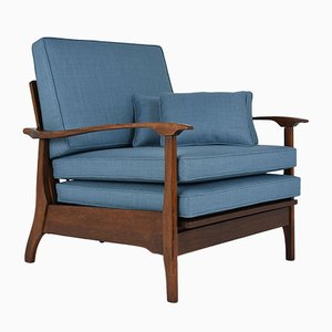 Poltrona Mid-Century reclinabile, anni '60