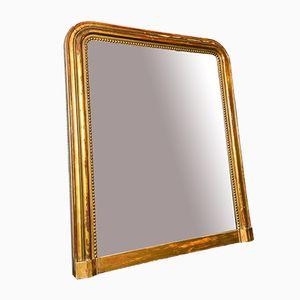 Spiegel mit Vergoldetem Rahmen aus 19. Jhdt.