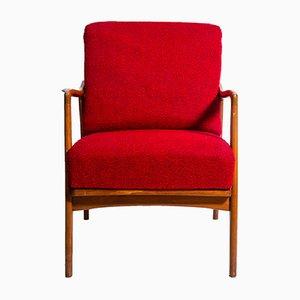 Roter Sessel, 1960er