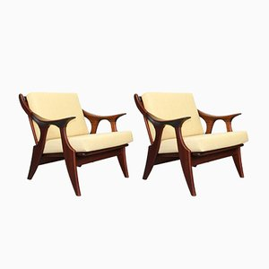 Small Lounge Chairs by De Ster Gelderland, 1950s, Set of 2