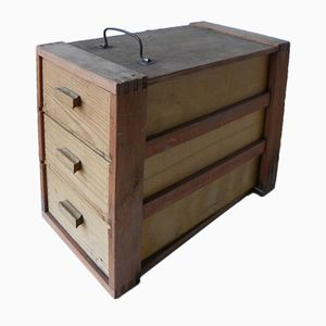 Vintage Box with Drawers, 1960s
